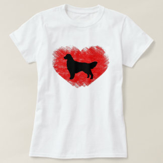 Golden Retriever Heart T-Shirt