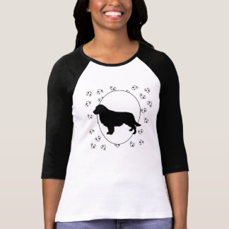 Golden Retriever Hearts and Pawprints Shirts
