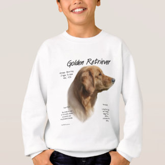 Golden Retriever History Design Sweatshirt