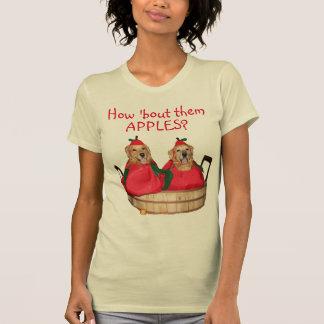 Golden Retriever How 'Bout Them Apples T-Shirt
