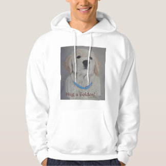 "Golden Retriever Hug""Hug a Golden"" Sweatshirt"