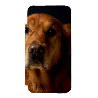 Golden Retriever Incipio Watson™ iPhone 5 Wallet Case