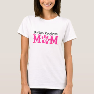 Golden Retriever Mom Apparel T-Shirt