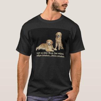 Golden Retriever Mom Has Retired Shirt