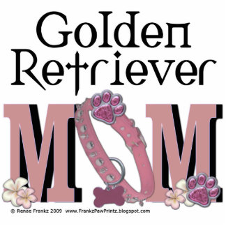 Golden Retriever MOM Standing Photo Sculpture