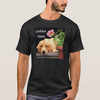 Golden Retriever Mom T-Shirt
