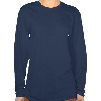 Golden Retriever on Blue Background - Vector Art Tee Shirt