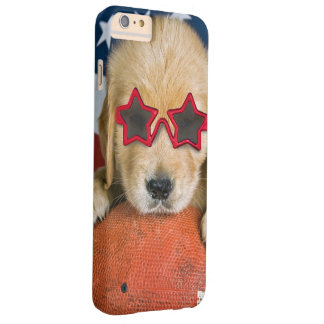 golden retriever on football barely there iPhone 6 plus case