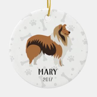 Golden Retriever Personalized Christmas Ornament