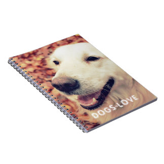Golden Retriever Photo Notebook for dogs lovers