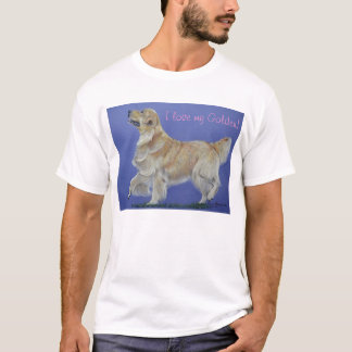 Golden Retriever Prancing T-shirt