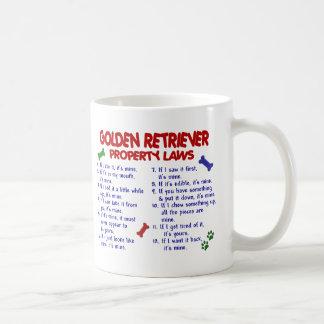 Golden Retriever Property Laws 2 Coffee Mug