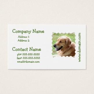 Golden Retriever Pup Business Cards
