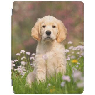 Golden Retriever puppy a cute Goldie iPad Cover