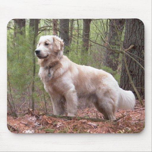Golden Retriever Puppy Dog Mousepad