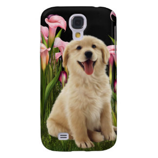 Golden Retriever Puppy i Samsung Galaxy S4 Case
