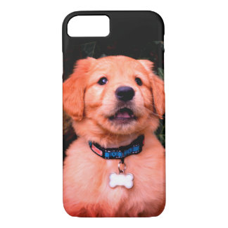 Golden Retriever Puppy iPhone 8/7 Case