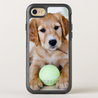 Golden Retriever Puppy Wants To Play OtterBox Symmetry iPhone 8/7 Case