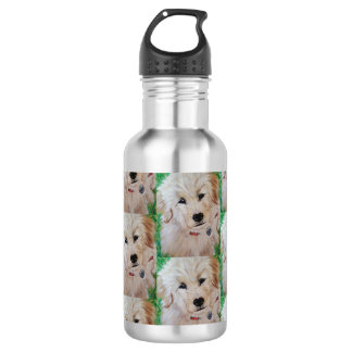 Golden Retriever Puppy Water Bottle