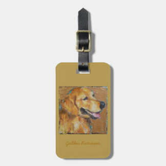 Golden Retriever purse, luggage tag or key chain