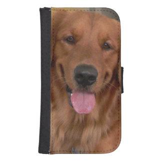 Golden Retriever Samsung Galaxy Phone Wallet Case
