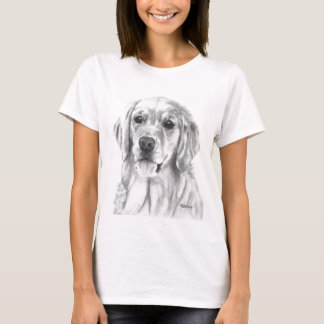 Golden Retriever Sketch T-Shirt