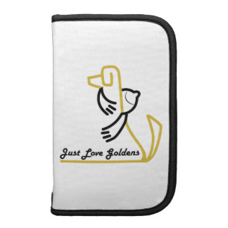 Golden Retriever Smartphone Folio Planners