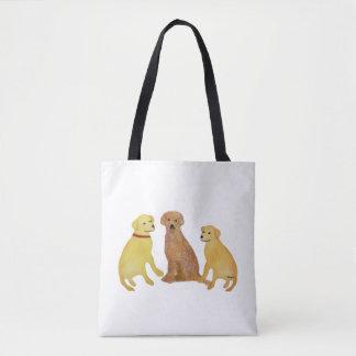 Golden Retriever Sunshine Tote Bag