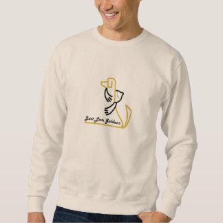 Golden Retriever Sweatshirt, Just Love Goldens Sweatshirt