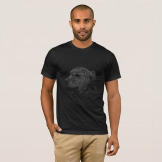 Golden Retriever Text Portrait T-Shirt