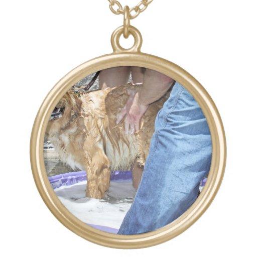 Golden Retriever - That the Spot! Necklace