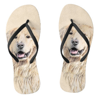 Golden Retriever Thongs