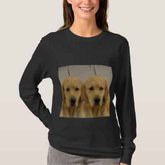 Golden Retriever Twins Long Sleeve T-Shirt