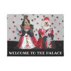 Golden Retriever Welcome to the Palace Doormat