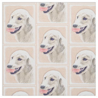 Golden Retriever with Tennis Ball Fabric