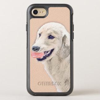 Golden Retriever with Tennis Ball OtterBox Symmetry iPhone 8/7 Case