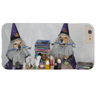 Golden Retriever Wizard's Workshop Barely There iPhone 6 Plus Case