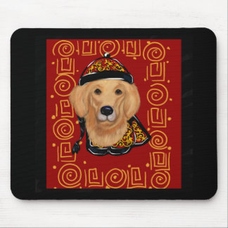 Golden Retriever Year of the Dog Mouse Pad