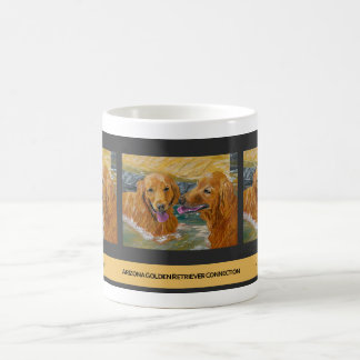 Golden Retrievers Frolic Mug