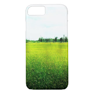 Golden Rice Field Photo iPhone 7 Case