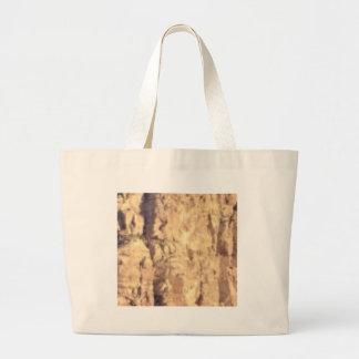 golden rock fill large tote bag