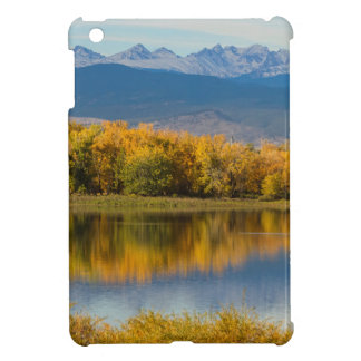 Golden Rocky Mountain Front Range View iPad Mini Covers