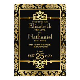 1920s Invitations Announcements Zazzle Com Au
