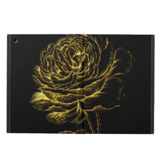 Golden Rose Case For iPad Air