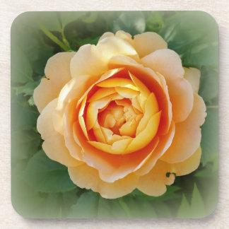 Golden rose coaster