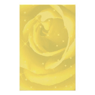 Golden Rose_ Custom Stationery