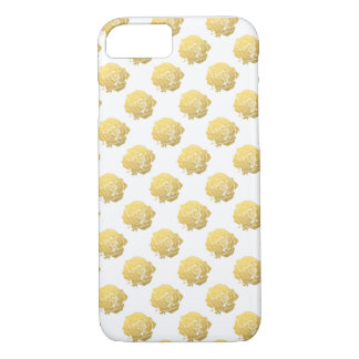 Golden Rose iPhone 7 Case