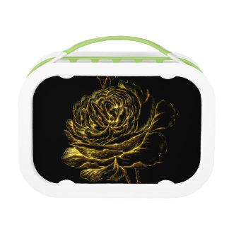 Golden Rose Lunch Box
