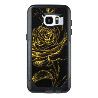 Golden Rose OtterBox Samsung Galaxy S7 Edge Case