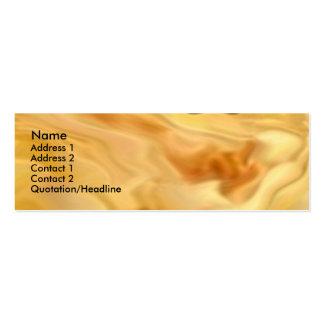 Golden Rose Petal Business Card Templates